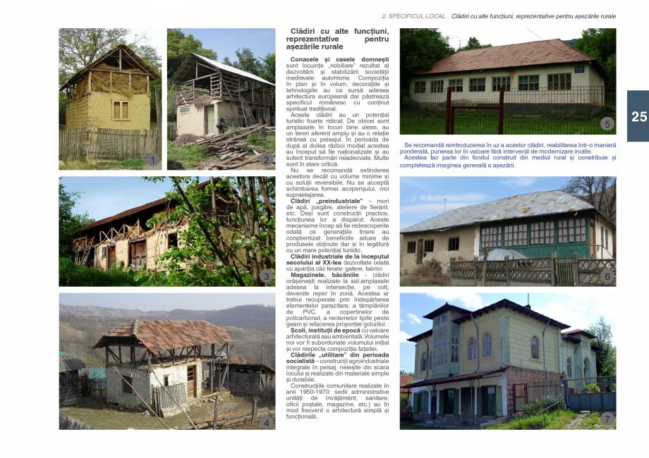 Pagina 27 - Zona Subcarpatica Buzau - Ghid de arhitectura pentru incadrarea in specificul local din ...