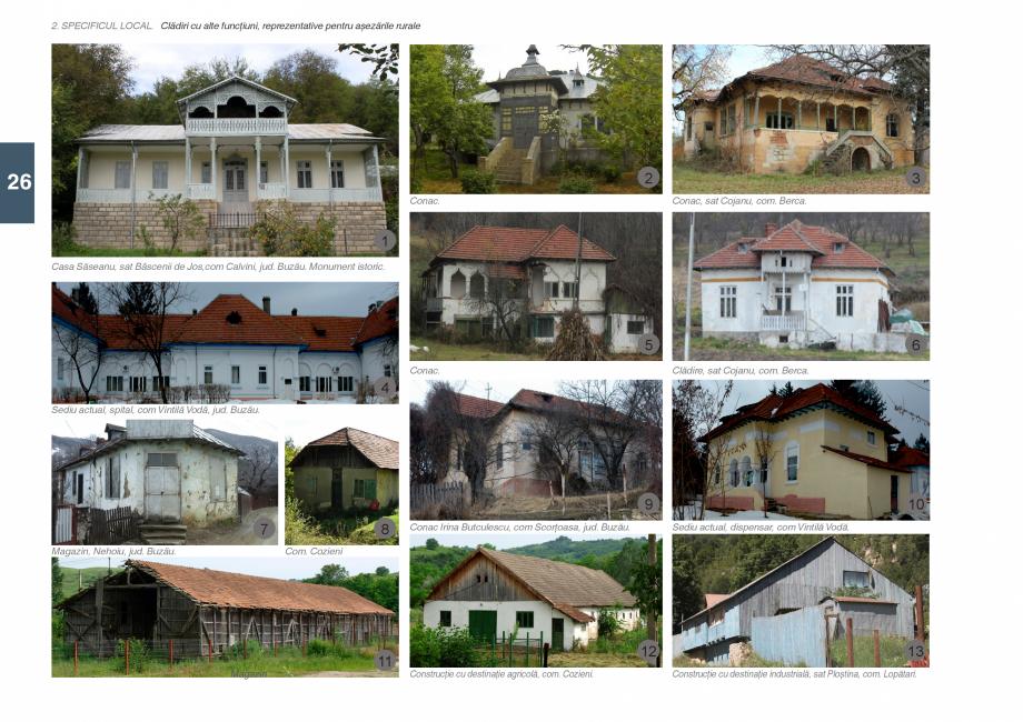 Pagina 28 - Zona Subcarpatica Buzau - Ghid de arhitectura pentru incadrarea in specificul local din ...