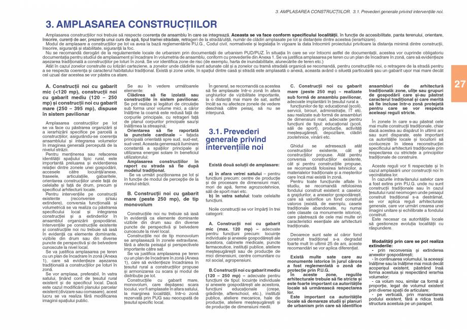 Pagina 29 - Zona Subcarpatica Buzau - Ghid de arhitectura pentru incadrarea in specificul local din ...