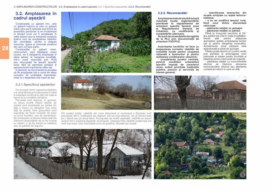 Pagina 30 - Zona Subcarpatica Buzau - Ghid de arhitectura pentru incadrarea in specificul local din ...