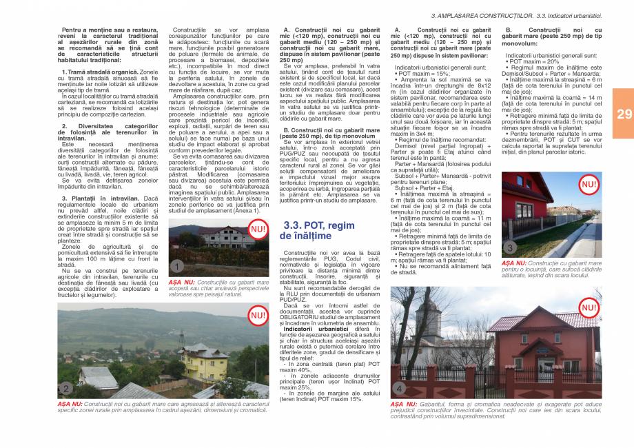 Pagina 31 - Zona Subcarpatica Buzau - Ghid de arhitectura pentru incadrarea in specificul local din ...