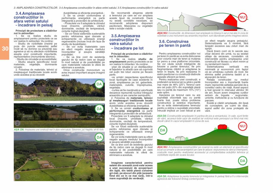 Pagina 32 - Zona Subcarpatica Buzau - Ghid de arhitectura pentru incadrarea in specificul local din ...