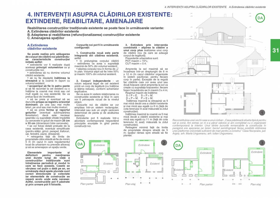 Pagina 33 - Zona Subcarpatica Buzau - Ghid de arhitectura pentru incadrarea in specificul local din ...