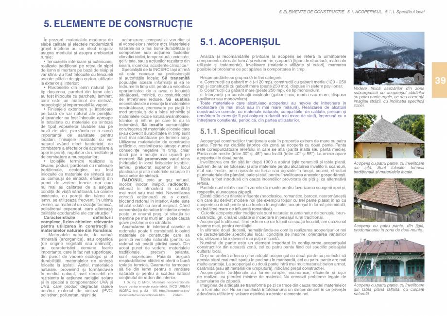 Pagina 41 - Zona Subcarpatica Buzau - Ghid de arhitectura pentru incadrarea in specificul local din ...