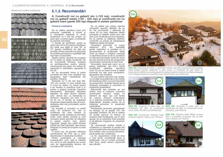 Pagina 42 - Zona Subcarpatica Buzau - Ghid de arhitectura pentru incadrarea in specificul local din ...