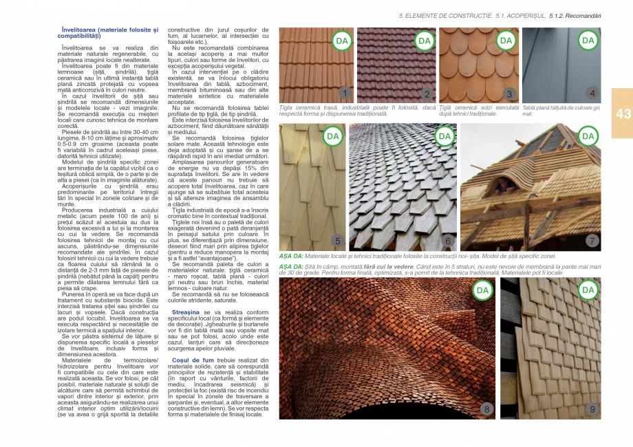 Pagina 45 - Zona Subcarpatica Buzau - Ghid de arhitectura pentru incadrarea in specificul local din ...