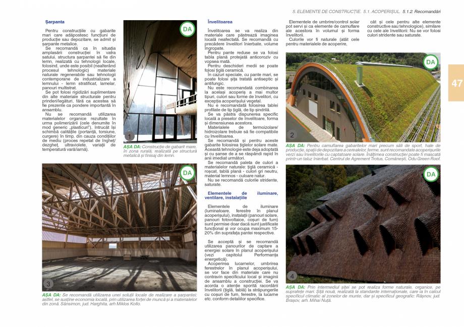 Pagina 49 - Zona Subcarpatica Buzau - Ghid de arhitectura pentru incadrarea in specificul local din ...