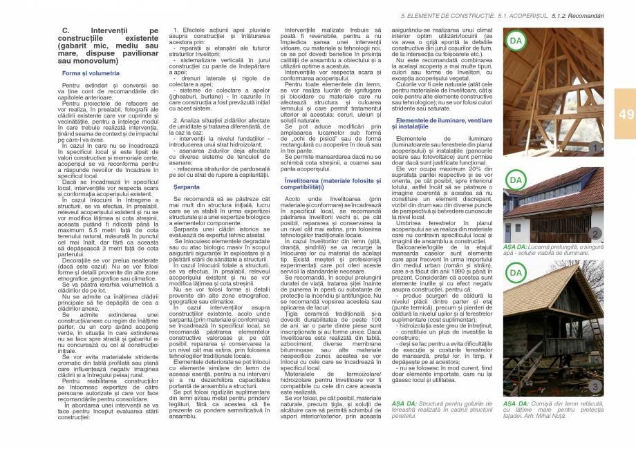 Pagina 51 - Zona Subcarpatica Buzau - Ghid de arhitectura pentru incadrarea in specificul local din ...