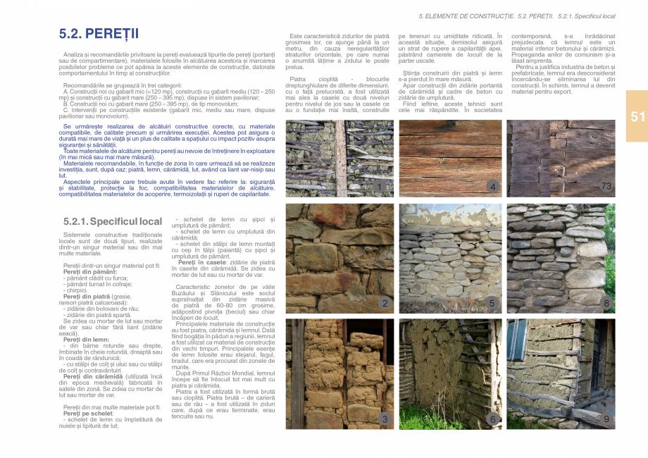 Pagina 53 - Zona Subcarpatica Buzau - Ghid de arhitectura pentru incadrarea in specificul local din ...