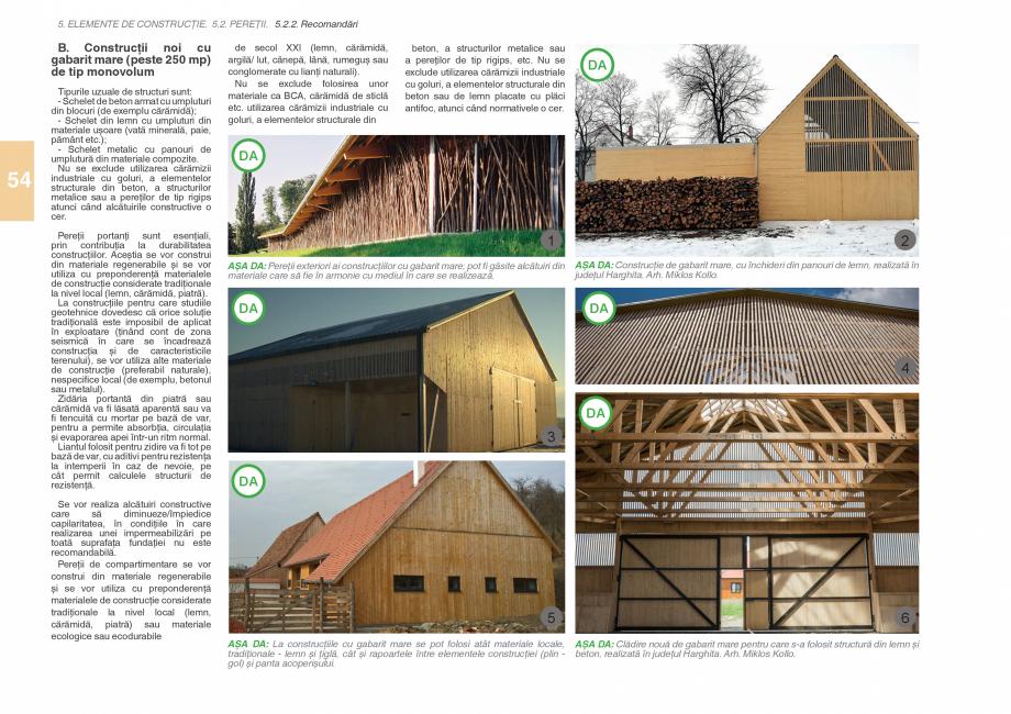 Pagina 56 - Zona Subcarpatica Buzau - Ghid de arhitectura pentru incadrarea in specificul local din ...