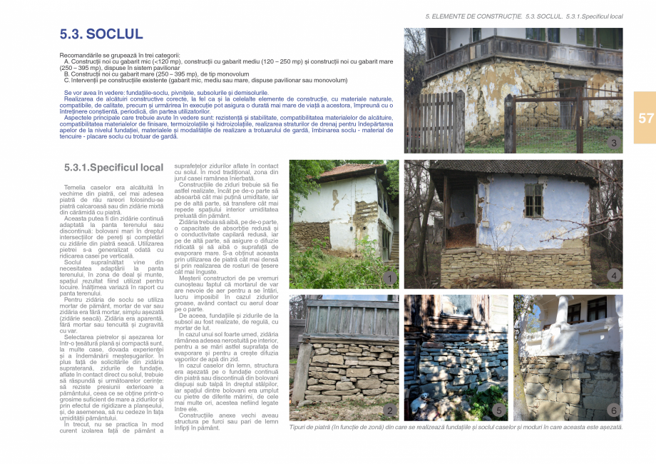 Pagina 59 - Zona Subcarpatica Buzau - Ghid de arhitectura pentru incadrarea in specificul local din ...