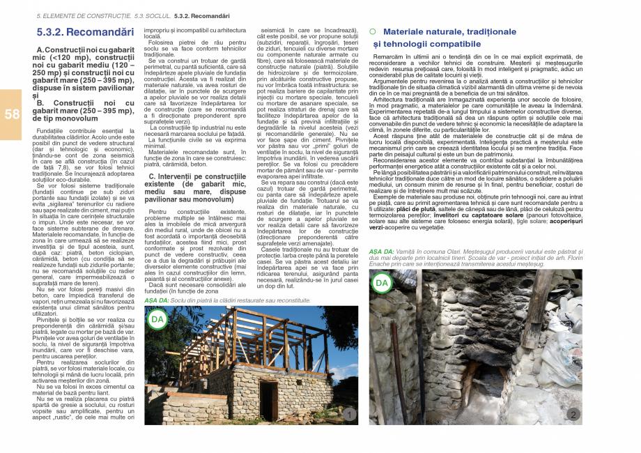 Pagina 60 - Zona Subcarpatica Buzau - Ghid de arhitectura pentru incadrarea in specificul local din ...