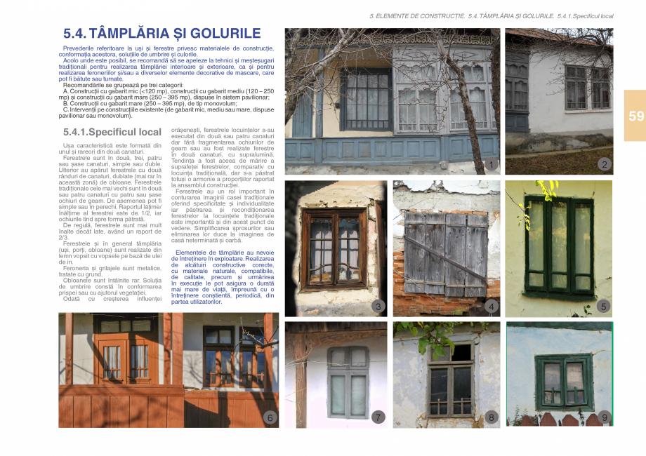 Pagina 61 - Zona Subcarpatica Buzau - Ghid de arhitectura pentru incadrarea in specificul local din ...