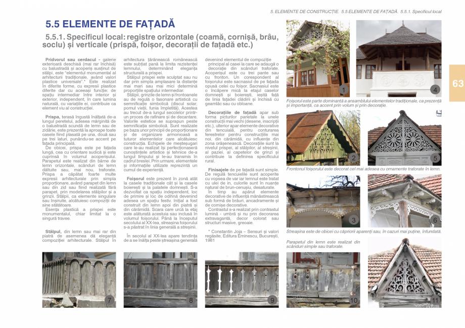 Pagina 65 - Zona Subcarpatica Buzau - Ghid de arhitectura pentru incadrarea in specificul local din ...