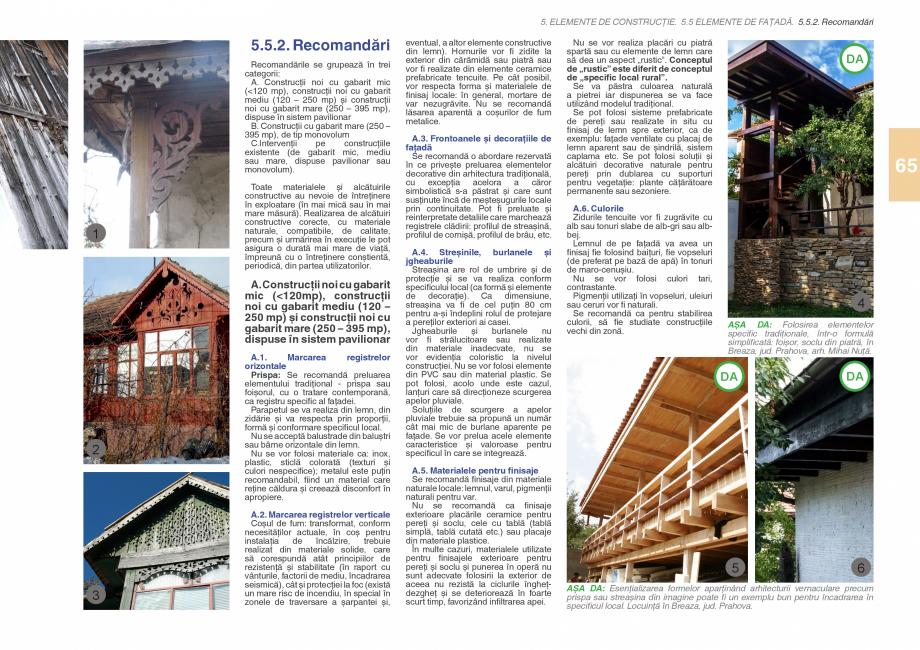Pagina 67 - Zona Subcarpatica Buzau - Ghid de arhitectura pentru incadrarea in specificul local din ...