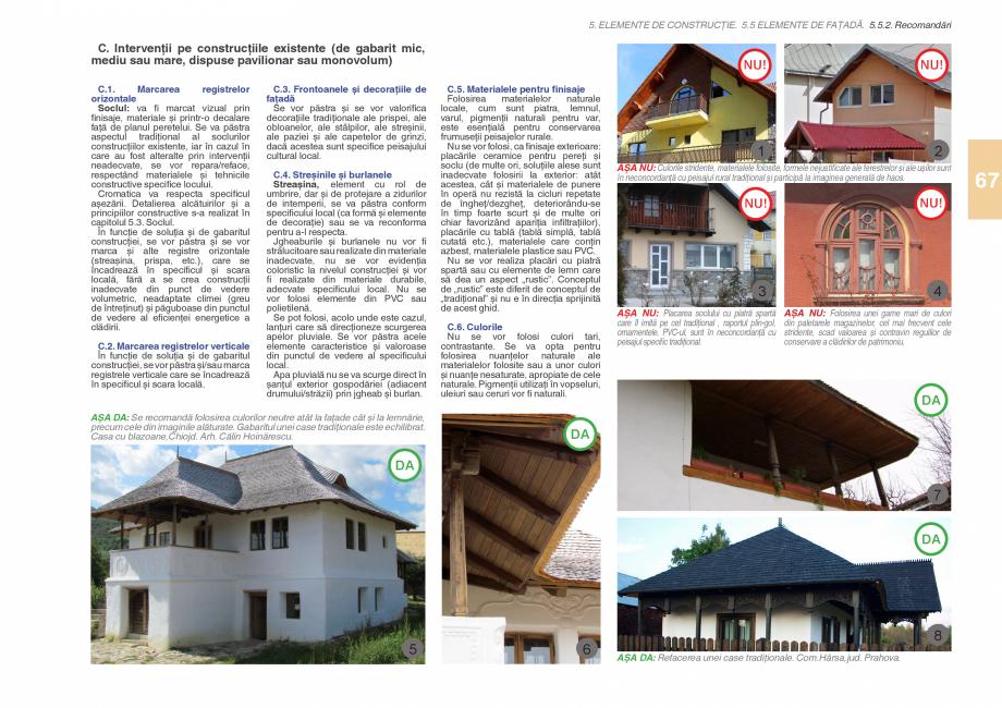 Pagina 69 - Zona Subcarpatica Buzau - Ghid de arhitectura pentru incadrarea in specificul local din ...