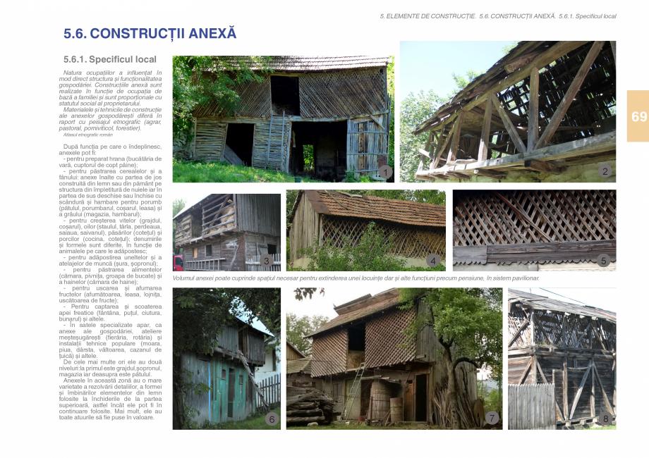 Pagina 71 - Zona Subcarpatica Buzau - Ghid de arhitectura pentru incadrarea in specificul local din ...