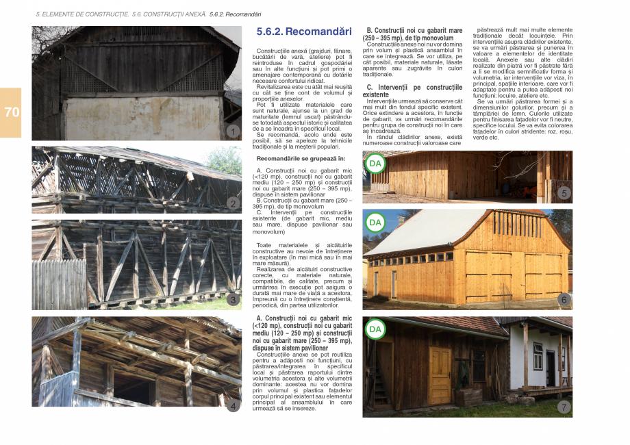 Pagina 72 - Zona Subcarpatica Buzau - Ghid de arhitectura pentru incadrarea in specificul local din ...