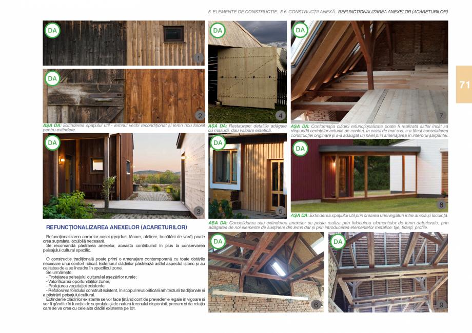 Pagina 73 - Zona Subcarpatica Buzau - Ghid de arhitectura pentru incadrarea in specificul local din ...