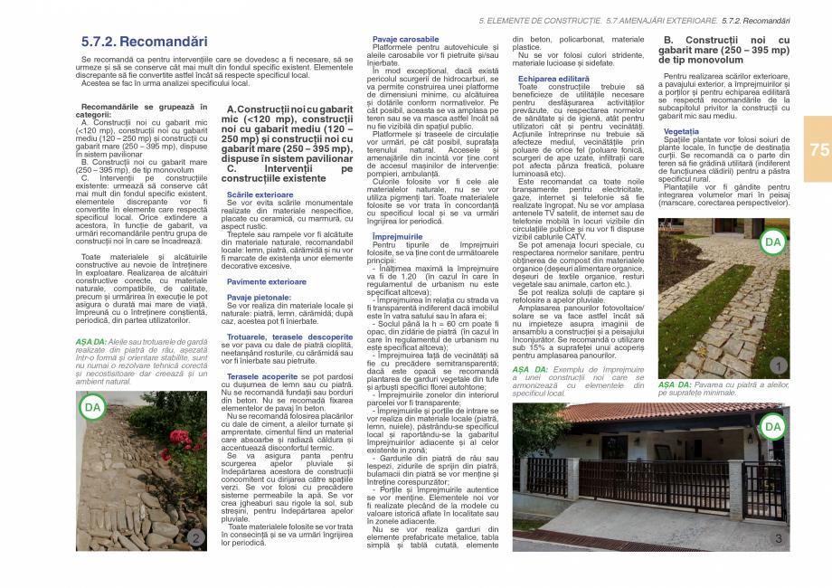 Pagina 77 - Zona Subcarpatica Buzau - Ghid de arhitectura pentru incadrarea in specificul local din ...