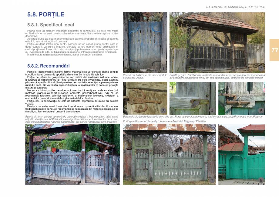 Pagina 79 - Zona Subcarpatica Buzau - Ghid de arhitectura pentru incadrarea in specificul local din ...