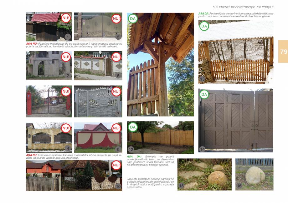 Pagina 81 - Zona Subcarpatica Buzau - Ghid de arhitectura pentru incadrarea in specificul local din ...