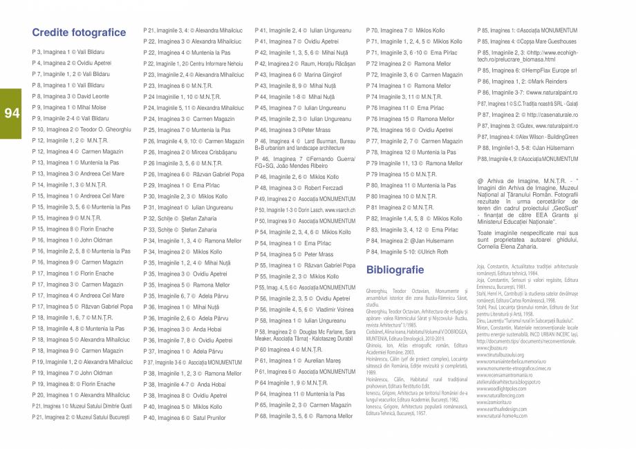Pagina 96 - Zona Subcarpatica Buzau - Ghid de arhitectura pentru incadrarea in specificul local din ...