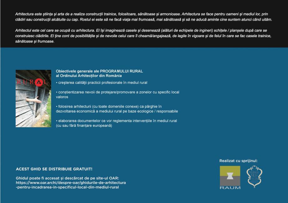 Pagina 98 - Zona Subcarpatica Buzau - Ghid de arhitectura pentru incadrarea in specificul local din ...