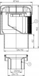 Aerator cu membrana pentru ventilarea sistemelor de canalizari interioare - Desen tehnic HL Hutterer & Lechner
