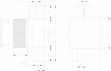 Sifon pentru condens cu montaj ingropat HL Hutterer & Lechner