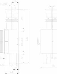 Sifon pentru condens cu montaj ingropat cu cartus transparent si extractabil pentru curatare
