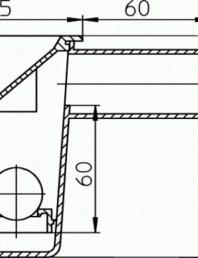 Sifon condens tip palnie - desen tehnic