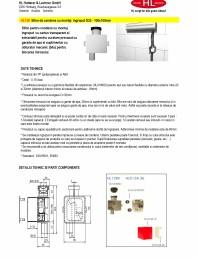 Sifon pentru condens cu montaj ingropat