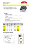 Receptor cu iesire laterala rama PP si gratar fonta inox plastic HL Hutterer & Lechner -