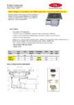 Receptor cu iesire laterala, rama fonta si gratar fonta HL Hutterer & Lechner - HL605.1