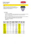 Receptor cu iesire verticala rama PP si gratar fonta inox plastic HL Hutterer & Lechner -