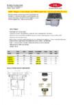 Receptor cu iesire verticala, rama fonta si gratar fonta HL Hutterer & Lechner - HL606.1