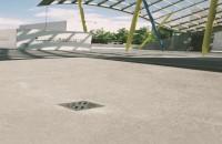 Receptori pentru parcari In cazul proiectarii spatiilor deschise cu suprafete mari, cum sunt parcarile sau terasele mari, solutia pentru drenajul apei de ploaie a devenit din ce in ce mai importanta datorita cresterii intensitatii ploilor din ultima perioada.