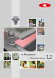Receptoare de scurgere pentru balcoane si terase HL Hutterer & Lechner