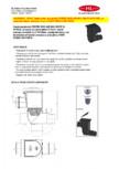Caseta ape pluviale pentru burlane inglobate in fatada HL Hutterer & Lechner - HL600NGHO