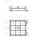 """Capac """"Individual"""" pentru HL600N / HL600NHO - desen tehnic HL Hutterer & Lechner - HL601i"""