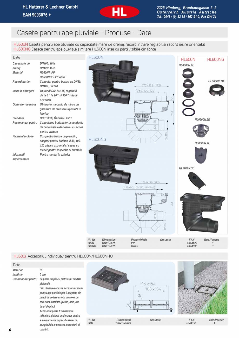 Pagina 6 - Noua caseta pentru ape pluviale - Pregatita pentru orice ploaie HL Hutterer & Lechner...
