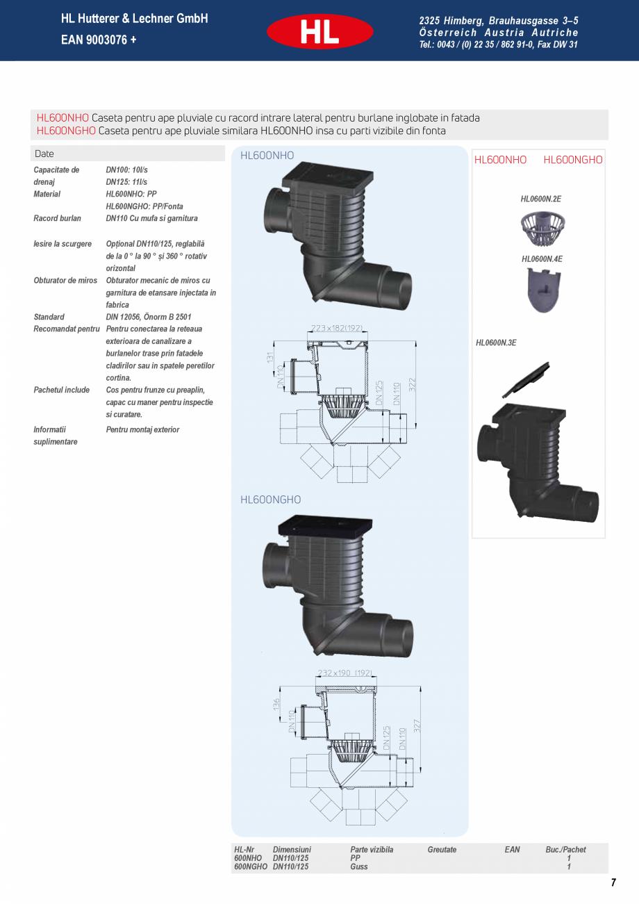 Pagina 7 - Noua caseta pentru ape pluviale - Pregatita pentru orice ploaie HL Hutterer & Lechner...