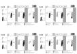 Exemplu montaj - Sifon pentru masina de spalat DN40 cu montaj aparent cu capac alb HL
