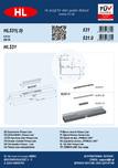 Ghid de instalare pentru rigolele de dus HL Hutterer & Lechner - HL531, HL531.0