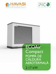 Pompa de căldură aerotermală - 2-17 kW