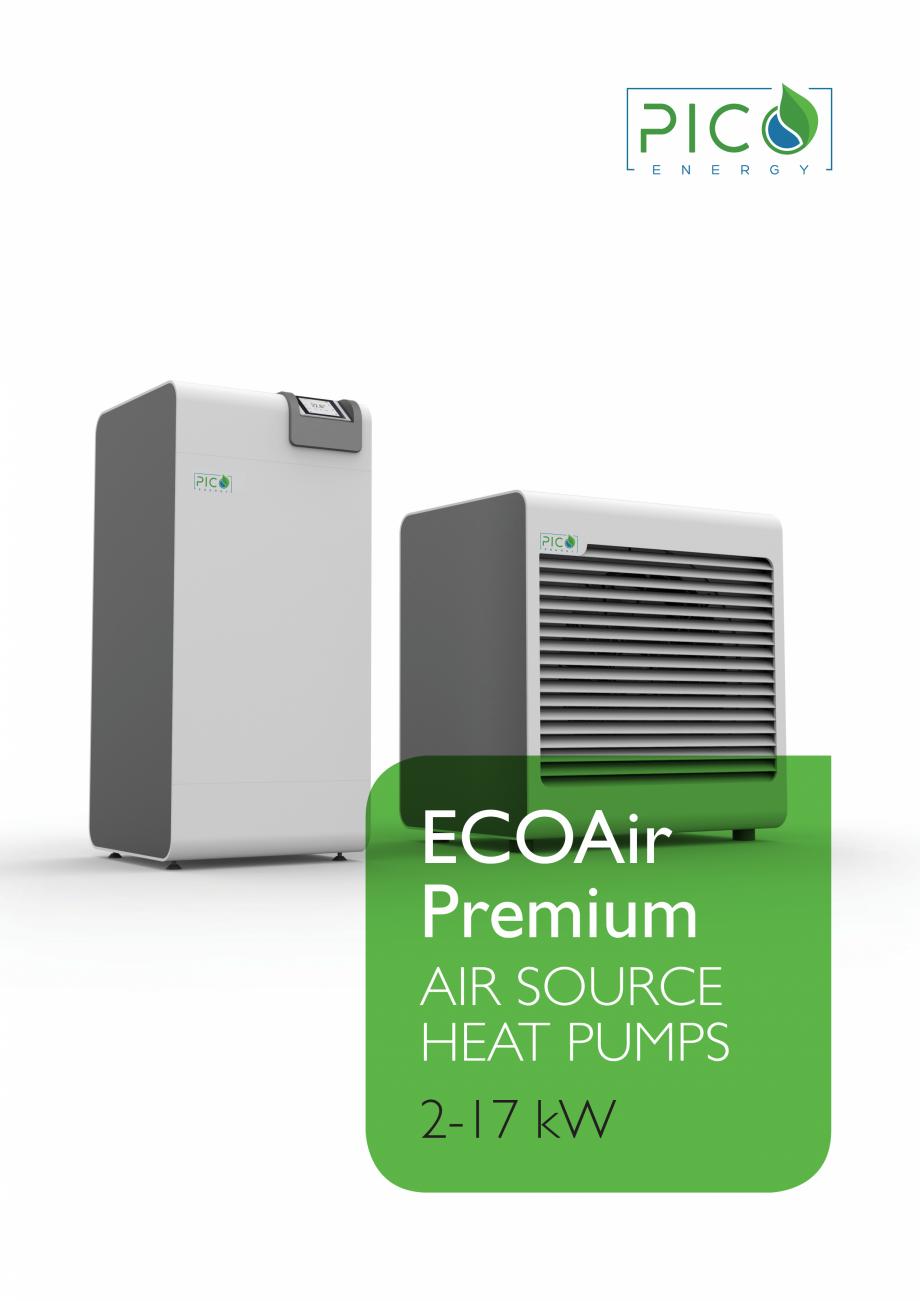 Pagina 1 - Pompa de căldură aerotermală - 2-17 kW PicoEnergy ECOAir Premium WPL 2-17 kW Catalog, ...