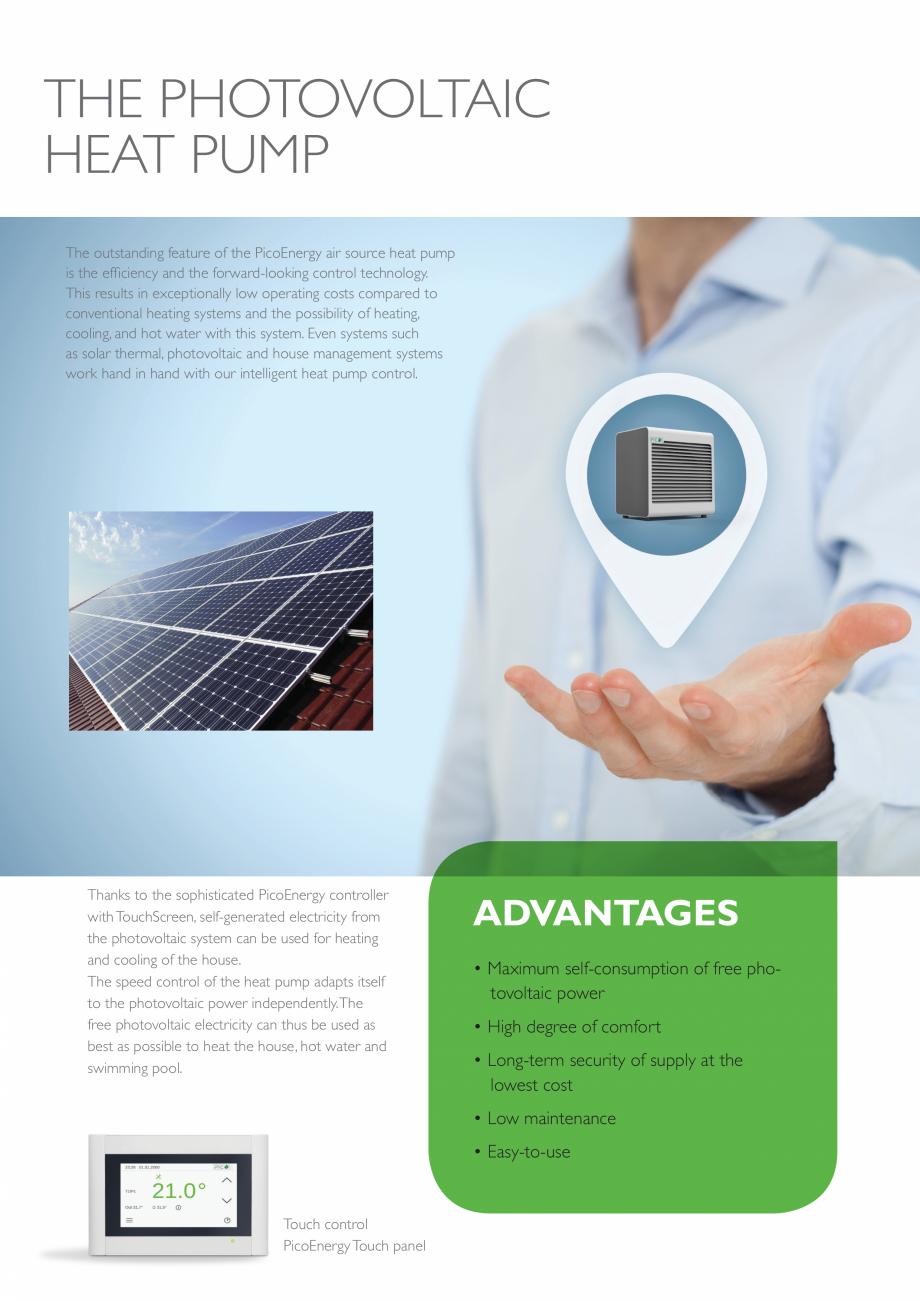 Pagina 3 - Pompa de căldură aerotermală - 2-17 kW PicoEnergy ECOAir Premium WPL 2-17 kW Catalog, ...