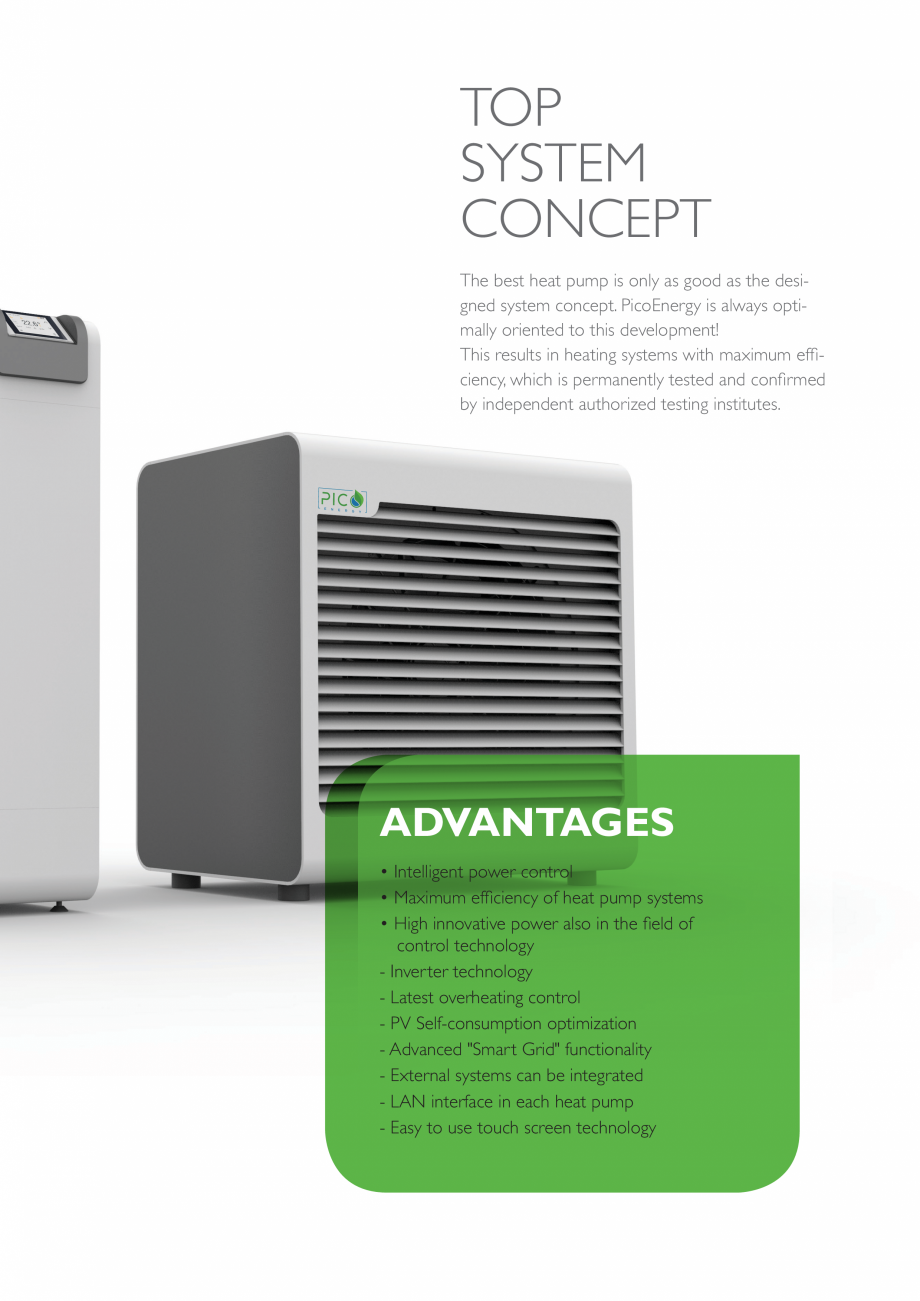 Pagina 5 - Pompa de căldură aerotermală - 2-17 kW PicoEnergy ECOAir Premium WPL 2-17 kW Catalog, ...