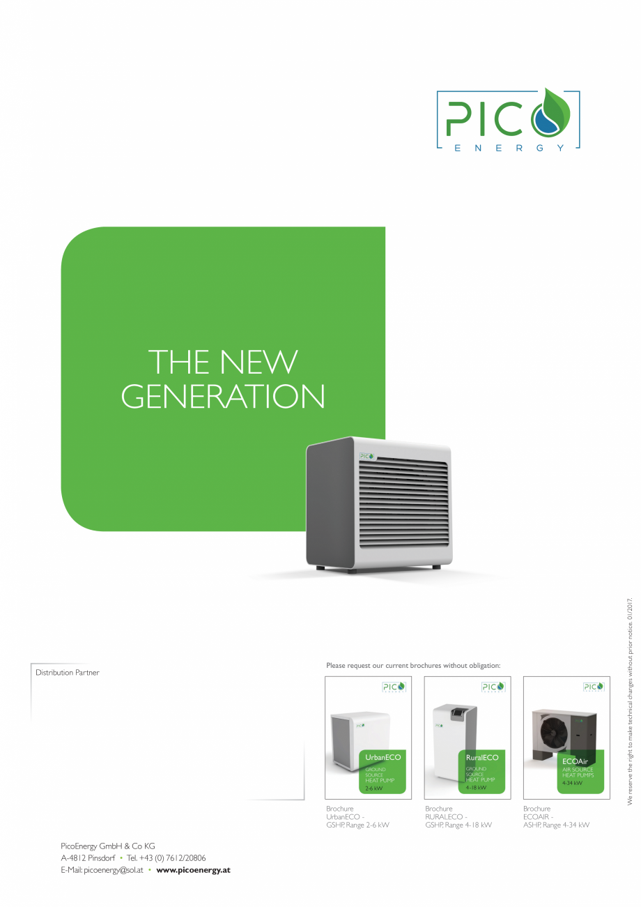 Pagina 8 - Pompa de căldură aerotermală - 2-17 kW PicoEnergy ECOAir Premium WPL 2-17 kW Catalog, ...